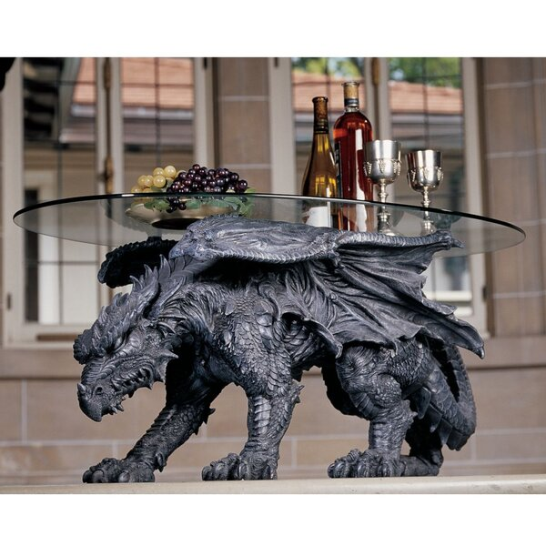 Warwickshire Dragon Coffee Table by Design Toscano