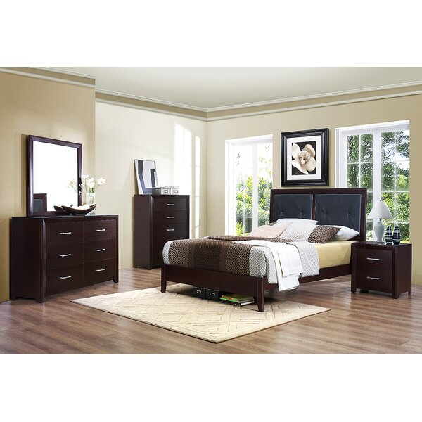 Edina Upholstered Standard Bed by Woodhaven Hill