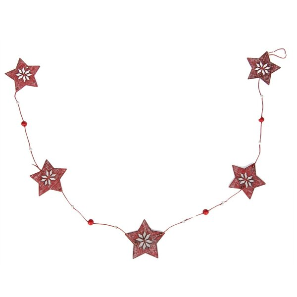 Country Christmas Star Garland by The Holiday Aisle