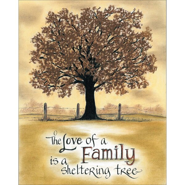 Life Lines The Love of Family by Lori Voskuil-Dutter Graphic Art Plaque by LPG Greetings