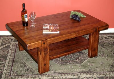 Russian River Coffee Table by 2 Day Designs, Inc