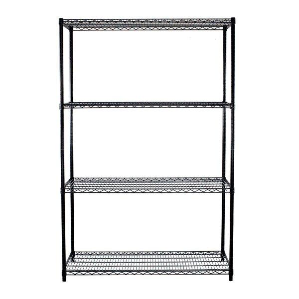 72 H x 48 W 4 Shelf Shelving Unit by Trinity