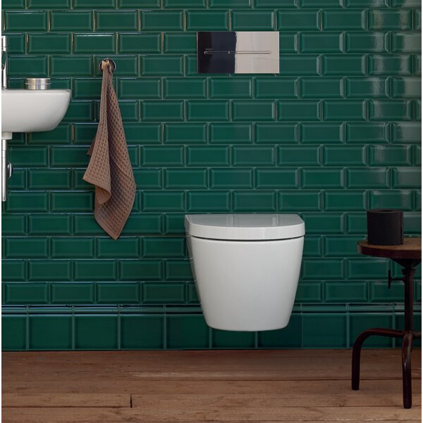 Me by Starck 1.28 GPF (Water Efficient) Elongated Wall Mounted Toilet with High Efficiency Flush (Seat Not Included) by Duravit