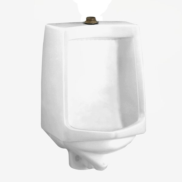Traditional Trimbrook Urinal with 0.75 Top Spud, Wall Hanger, and Outlet Connection by American Standard