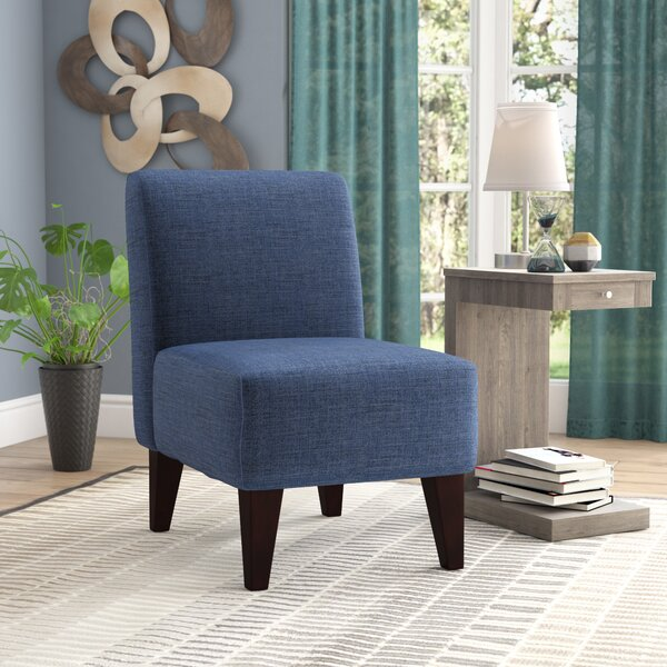 Reviews Ianthe 23 Slipper Chair by Andover Mills