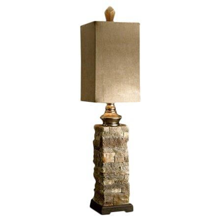 Moss Layered 30 Buffet Lamp by World Menagerie