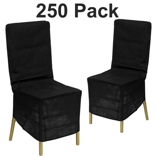Box Cushion Dining Chair Slipcover (Set of 250) by Winston Porter