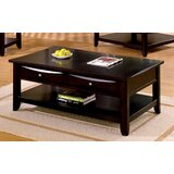 Geomar Rectangular Coffee Table with Storage by Latitude Run