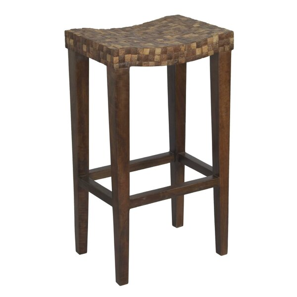 Isai 29.5 Bar Stool by World Menagerie