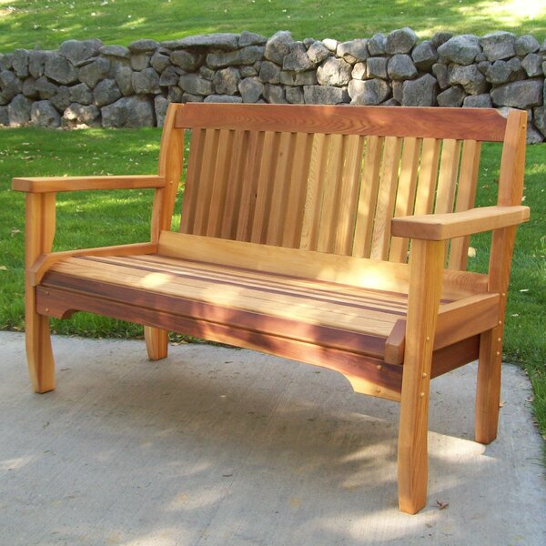 Carmelita Garden Bench by Highland Dunes