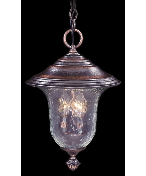 Mission Hills 3-Light Outdoor Pendant by Framburg