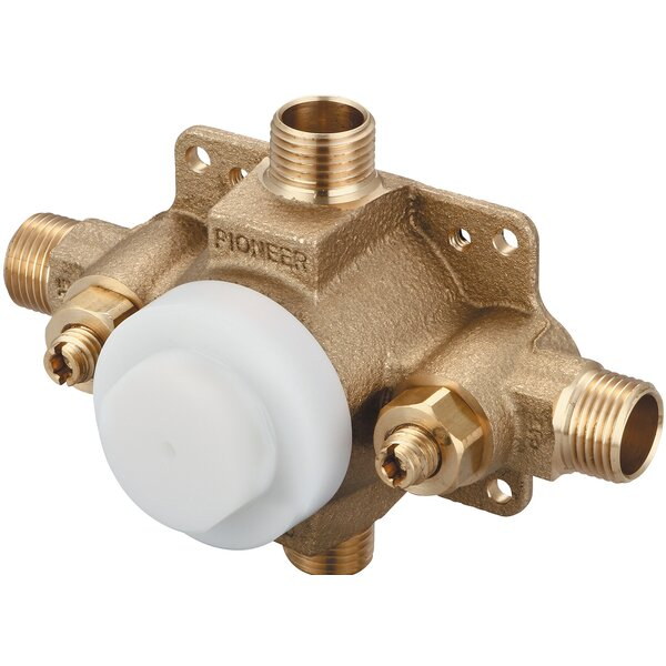 Single Handle Pressure Balance Tub and Shower Valve by Pioneer