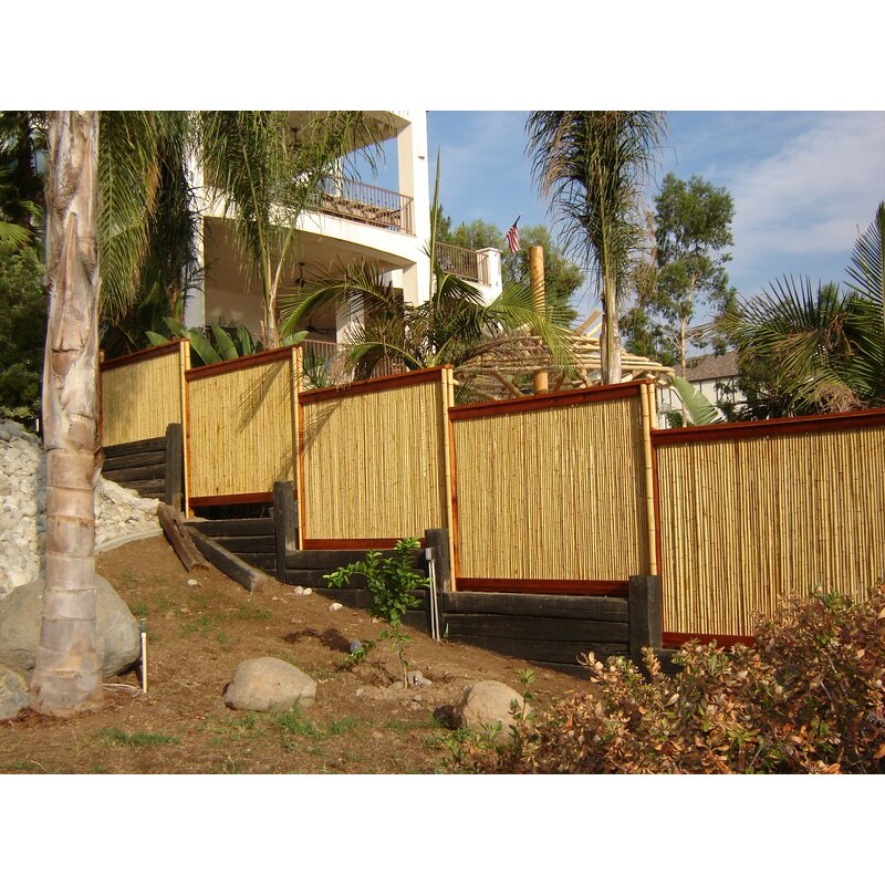 Backyard X Scapes Rolled Bamboo Fencing backyard x-scapes rolled bamboo fencing | wayfair
