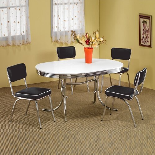 Kewei 5 Piece Dining Set by Orren Ellis