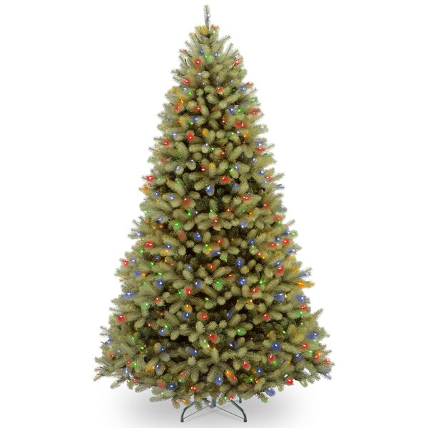 Downswept Douglas 10 Green Fir Artificial Christmas Tree with 1000 LED Multi Lights and Stand by The Holiday Aisle