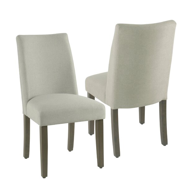 Barnabas Upholstered Dining Chair (Set of 2) by Highland Dunes