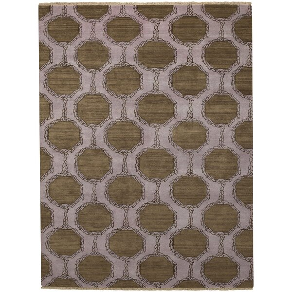 Penny Tawny Trellis Brown/Purple Area Rug by Capel Rugs