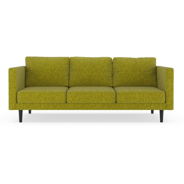 Schermerhorn Pebble Weave Sofa by Orren Ellis