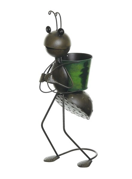Tin Pot Planter by Northlight Seasonal