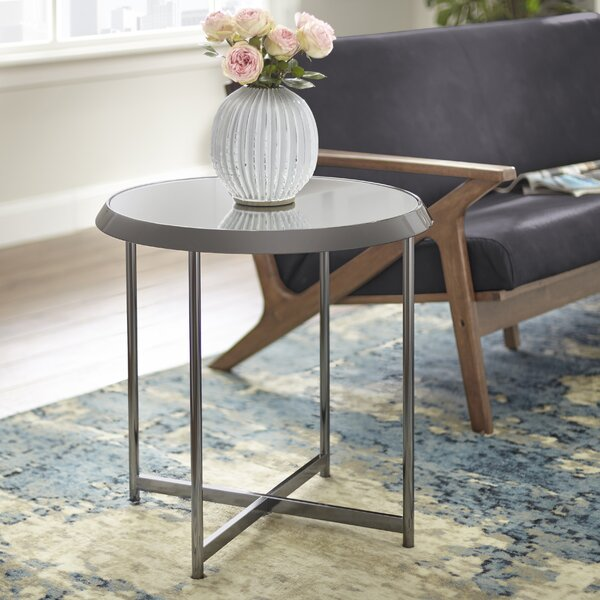 Hines End Table by Williston Forge
