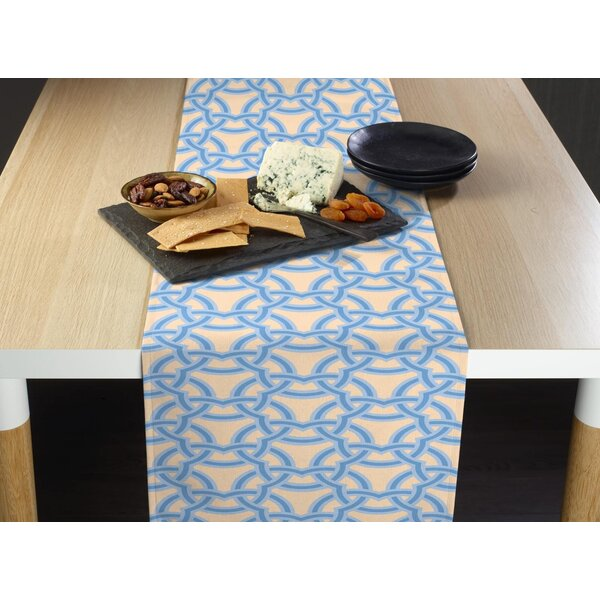 Eshelman Links Together Milliken Signature Table Runner by Breakwater Bay