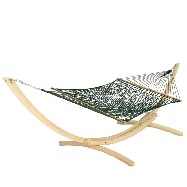 Hamby Large Rope Cotton Tree Hammock by Highland Dunes Highland Dunes