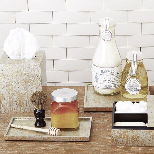 Champagne Square Amenity Bathroom Accessory Tray by Studio A Home