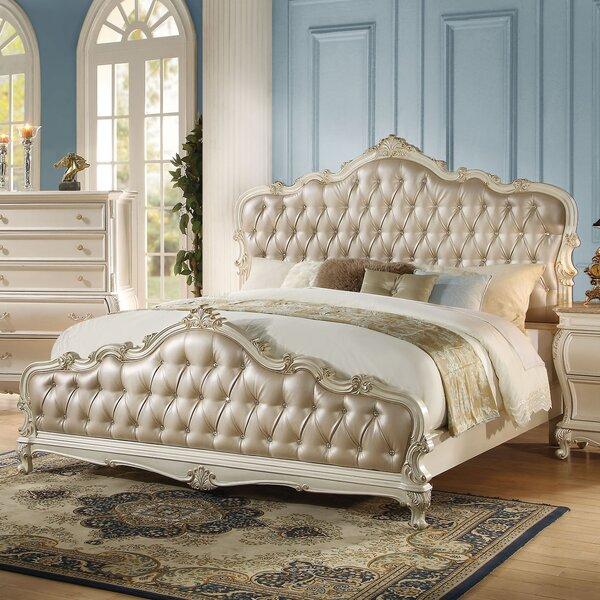 Casanovia Upholstered Standard Bed by Rosdorf Park