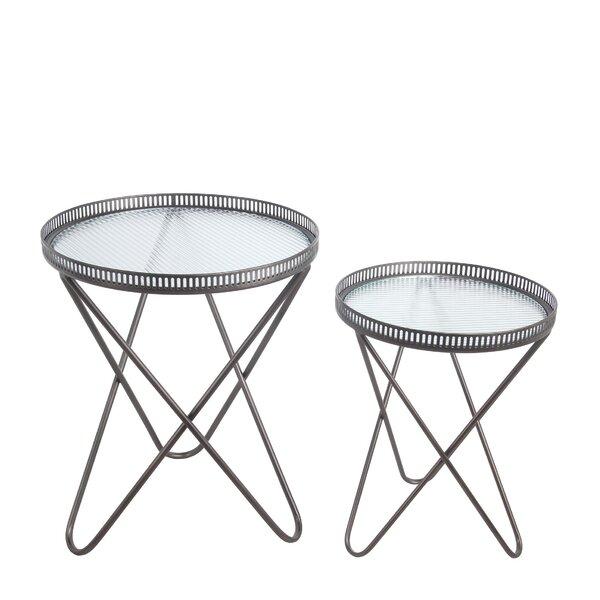 Pedestal Nesting Tables By Latitude Run