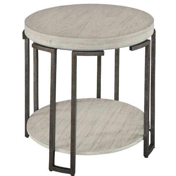 Round End Table By Hekman