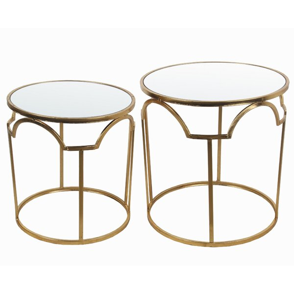 Delossantos 2 Piece Nesting Tables by Mercer41