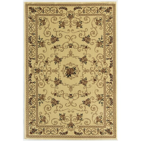 Gloucester Cream Area Rug by Threadbind