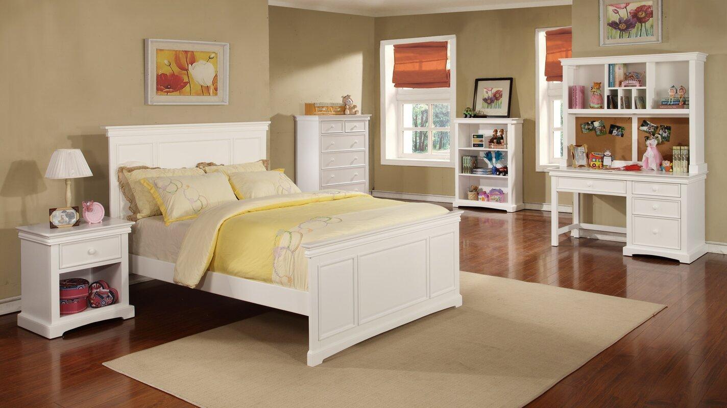 bolton furniture cambridge panel customizable bedroom set