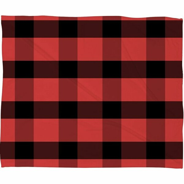Winter Plaid Throw by Deny Designs
