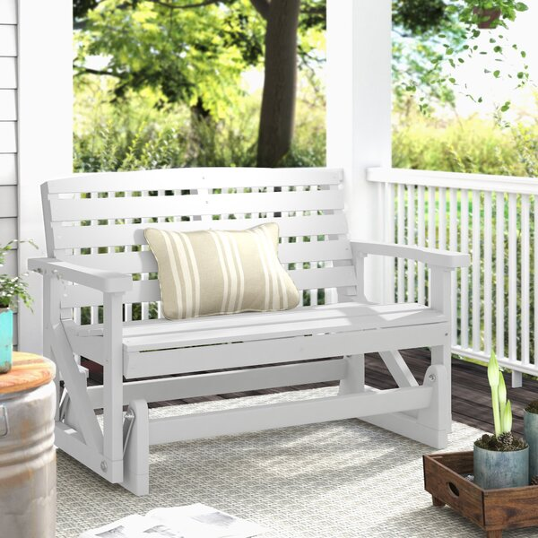 Sawyerville Glider Bench by Laurel Foundry Modern Farmhouse