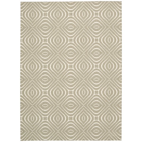 Enhance Taupe Area Rug by Nourison