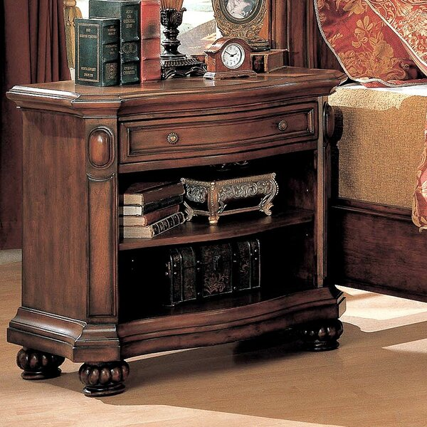Aldford 1 Drawer Nightstand by Astoria Grand