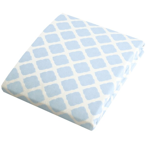 Flannel Fitted Crib Sheet by Kushies Baby