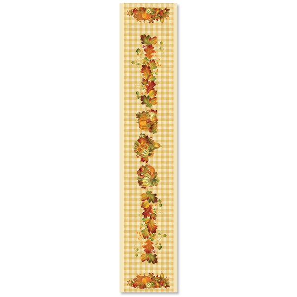 Happy Harvest Table Runner by The Holiday Aisle