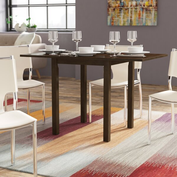 #2 Cathy Drop Leaf Dining Table By Zipcode Design 2019 Sale