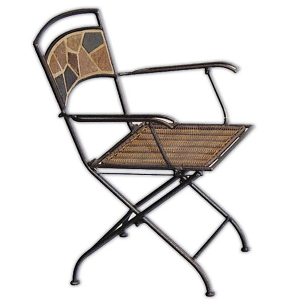 Bellview Folding Patio Dining Chair (Set of 2) by Winston Porter