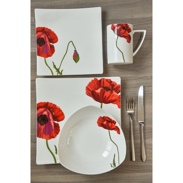 Summer Sun 4 Piece Place Setting, Service for 1 by Red Vanilla