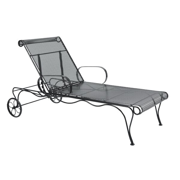 Tucson Adjustable Chaise Lounge by Woodard