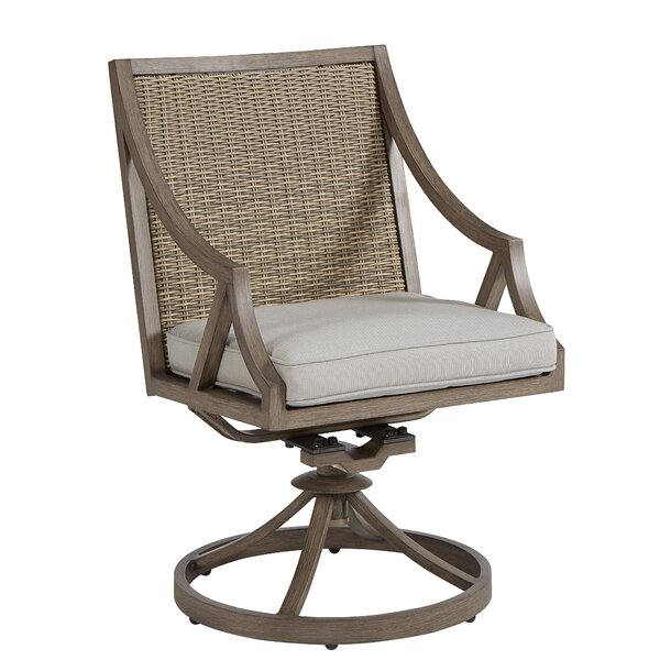 Swivel Patio Dining Chair by Dowton Abbey Dowton Abbey