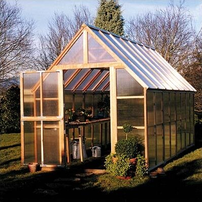 8 Ft. W x 16 Ft. D Hobby Greenhouse by Sunshine Gardenhouse