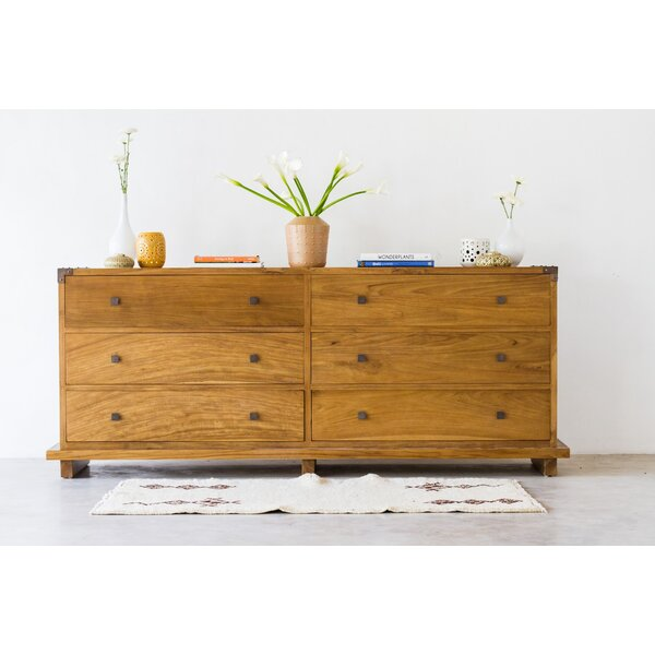 Craut 6 Drawer Double Dresser by Loon Peak