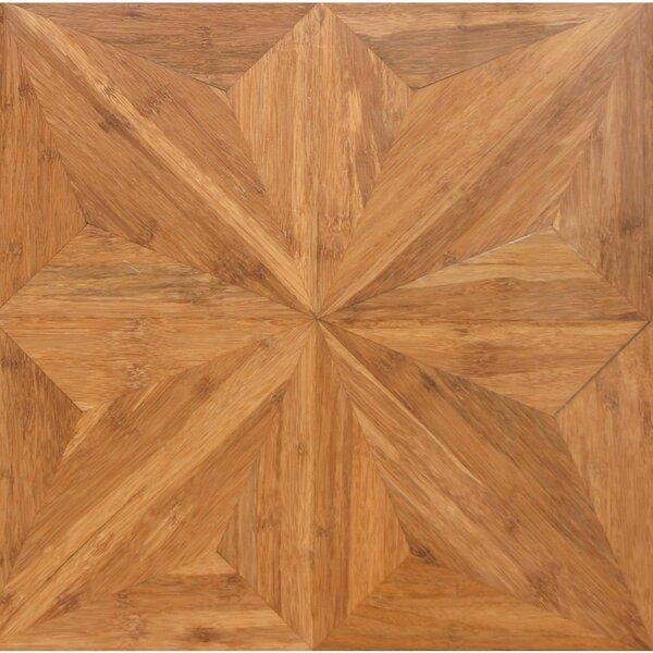 Renaissance Parquet Engineered 15.75 x 15.75 Bamboo Wood Tile by Islander Flooring