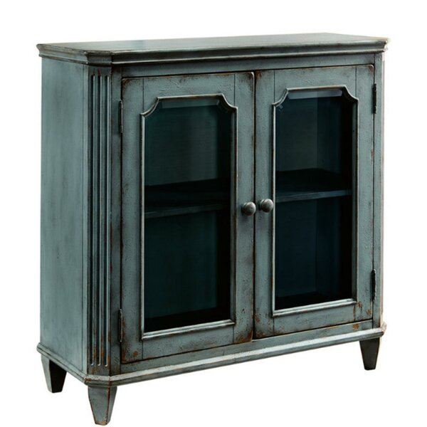 Rex Distressed Wooden 2 Door Cabinet by One Allium Way One Allium Way