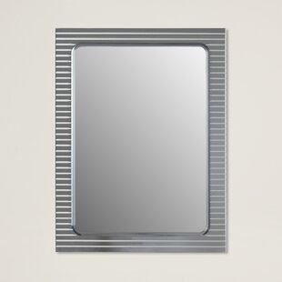 Brayden Studio V-Groove Wall Mirror