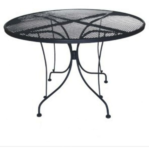 Charleston Round Wrought Iron Table by DC America
